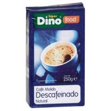 DinoFood - Cafe Molido Descafeinado De Tueste Natural Röstkaffee gemahlen entkoffeiniert 250g produziert auf Gran Canaria