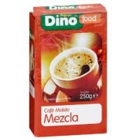 DinoFood - Cafe Molido Mezcla Natural Röstkaffee gemahlen gemischt 250g produziert auf Gran Canaria
