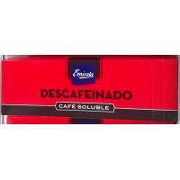 Emicela - Cafè Molido descafeinado Soluble Kaffee entkoffeiniert gemahlen 100 Portionen je 7g produziert auf Gran Canaria