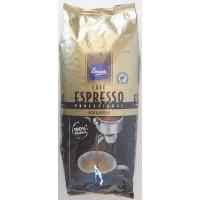 Emicela - Cafè Profesional Espresso Intenso gerösteter Bohnenkaffee 1kg Tüte produziert auf Gran Canaria