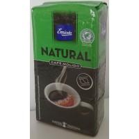 Emicela - Cafè Natural Molido Röstkaffee gemahlen 250g Karton produziert auf Gran Canaria