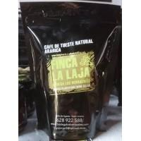 Finca La Laja - Cafe Tueste Natural Arabica molido gemahlener Premium-Röstkaffee aus Agaete 265g Tüte produziert auf Gran Canaria