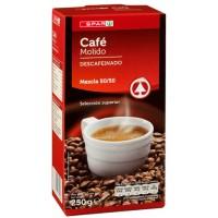 Spar - Cafe Molido Mezcla Descafeinado Röstkaffee gemahlen entkoffeiniert 250g produziert auf Teneriffa