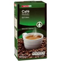 Spar - Cafe Molido Natural Röstkaffee gemahlen 250g produziert auf Teneriffa
