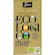 Tirma - Café Ecologico Molido Tueste Natural Bio-Röstkaffee gemahlen 250g produziert auf Gran Canaria