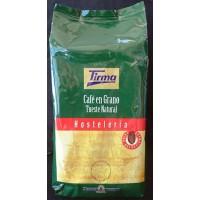 Tirma - Café en Grano Tueste Natural Hosteleria Bohnenkaffee geröstet Gastropackung 1kg produziert auf Gran Canaria