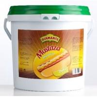 Diamante - Mostaza Mustard Senf Dulce 5kg Eimer produziert auf Gran Canaria