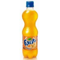 Fanta Naranja Orange 500ml PET-Flasche - produziert auf Teneriffa (Tacoronte)