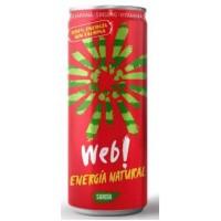 Web! - Energia Natural Sandia Guarana Ginseng Energy Drink 250ml Dose produziert auf Gran Canaria