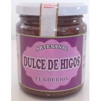 El Gorrion - Dulce de Higos Artesanal süßes Kaktusfeigengelee Marmelade 270g Glas produziert auf Teneriffa