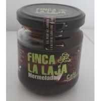 Finca La Laja - Mermelada de Cafe y Manzana Kaffee-Marmelade auf Apfelbasis 212g Glas produziert auf Gran Canaria