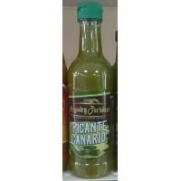 Argodey Fortaleza - Salsa Picante Canario Verde 200ml Flasche produziert auf Teneriffa