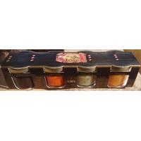 Argodey Fortaleza - Set Mojo Almagrote, Mojo Picon, Mojo Verde, Savia de Palma 3x 25g, 1x 20g Gläser 95g produziert auf Teneriffa