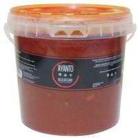 Ayanto - Mojo Rojo Suave Salsa Formato Horeca 4,6l Eimer produziert auf La Palma