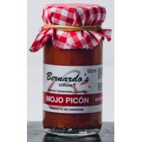 Bernardo's Mermeladas - Mojo Canario Picón rote scharfe Mojosauce 90ml produziert auf Lanzarote