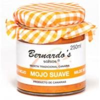 Bernardo's Mermeladas - Mojo Canario Suave rote milde Mojosauce 250ml produziert auf Lanzarote