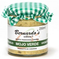 Bernardo's Mermeladas - Mojo Verde grüne milde Mojosauce 250ml produziert auf Lanzarote