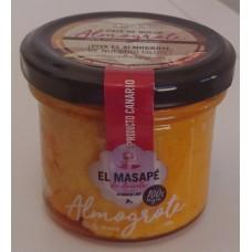 El Masapè - Almogrote Hartkäsepaste Glas 125g produziert auf La Gomera