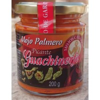 Guachinerfe - Mojo Palmero Picante 235ml/200g produziert auf Teneriffa