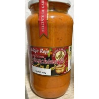 Guachinerfe - Mojo Rojo Picante rote scharfe Mojosauce 830g produziert auf Teneriffa