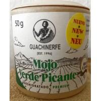 Guachinerfe - Mojo Verde Picante Deshidratado Premium Gewürz 50g Becher produziert auf Teneriffa