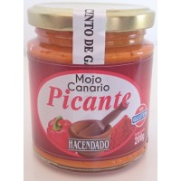 Hacendado - Mojo Canario Picante Glas 200g produziert von Guachinerfe auf Teneriffa