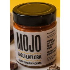 Labuela Flora - Mojo Rojo Salsa Canaria Picante 140g Glas produziert auf Teneriffa