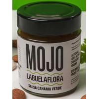 Labuela Flora - Mojo Verde Salsa Canaria 140g Glas produziert auf Teneriffa