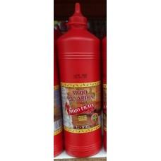 Mojo Canarion - Mojo Picon scharfe rote Mojosauce glutenfrei 1l/970g Plasteflasche produziert auf Gran Canaria