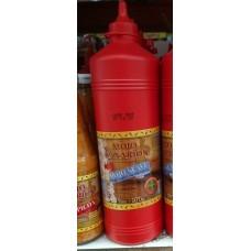 Mojo Canarion - Mojo Suave milde rote Mojosauce 1l/970g Plasteflasche produziert auf Gran Canaria