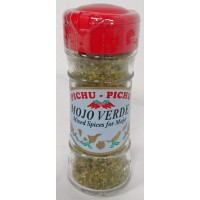 Pichu Pichu - Mojo Verde deshidratado Gewürzmischung 40g Streuerglas produziert auf Gran Canaria