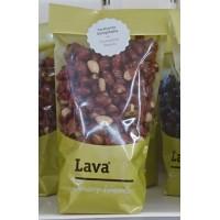 Lava - Bombon Cacahuetes Garrapinados karamellisierte Erdnüsse 200g Tüte produziert auf Teneriffa