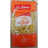 La Isleña - Pluma Rayada 3 Minutos Schnellkoch-Nudeln 500g produziert auf Gran Canaria