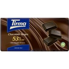 Tirma - Chocolate Negro 53% Cacao dunkle Schokolade Tafel 150g produziert auf Gran Canaria