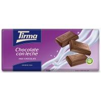 Tirma - Chocolate con Leche Vollmilchschokolade 75g Tafel produziert auf Gran Canaria