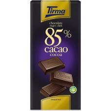 Tirma - Chocolate Negro 85% Cacao dunkle Schokolade 125g produziert auf Gran Canaria