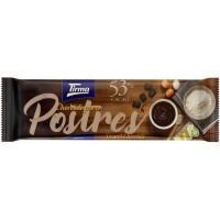 Tirma - Chocolate Para Postres 53% Cacao Schokolade für Nachtisch und backen 270g Tafel produziert auf Gran Canaria