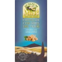 Zum-Zum Miel - Chocolate con Miel de Teide con Anacardos Honig-Schokolade mit Cashewnüsse 150g Tafel produziert auf Teneriffa