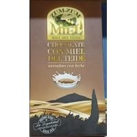 Zum-Zum Miel - Chocolate con Miel de Teide con Leche Honig-Vollmilchschokolade 150g Tafel produziert auf Teneriffa
