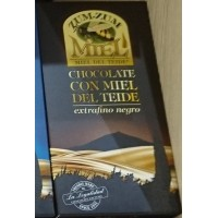 Zum-Zum Miel - Chocolate con Miel de Teide negro Honig-Bitterschokolade 150g Tafel produziert auf Teneriffa