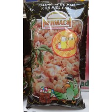 Hermach - Palomitas de Maiz con Miel y Sal Popcorn Honig und Salz 90g Tüte produziert auf Gran Canaria