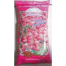 Hermach - Palomitas de Maiz Sabor Fresa Tradicional Popcorn Erdbeer 90g Tüte produziert auf Gran Canaria