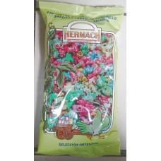 Hermach - Palomitas de Maiz al Caramelo Sabores Frutas Variadas Popcorn gemischt 90g Tüte produziert auf Gran Canaria