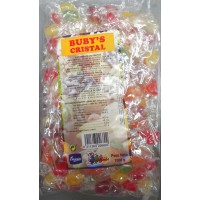 Emicela - Buby's Cristal Bonbons Fruchtgeschmack 1kg Tüte produziert auf Gran Canaria