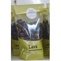 Lava - Bombon Jengibre & Chocolates Negro Ingwer & Dunkle Schokolade 250g Tüte produziert auf Teneriffa