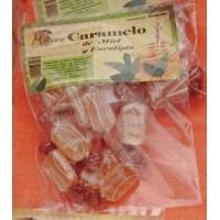 Valsabor - Maguey Caramelo de Miel y Eucalipto Honig-Eukalyptus-Bonbons 10 Stück produziert auf Gran Canaria