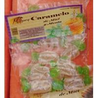 Valsabor - Maguey Caramelo de Miel y Menta Honig-Pfefferminz-Bonbons 10 Stück produziert auf Gran Canaria