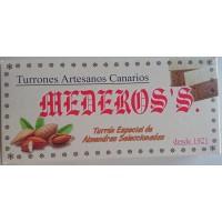 Mederos's - Turron Especial Almendras Seleccionadas Nougatriegel mit ausgewählten Mandeln 290g produziert auf Gran Canaria