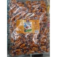 Tirma - Caramelos Nata Sahne-Bonbons 200 Stück 1,35kg Tüte produziert auf Gran Canaria