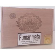 Condal - Caja Num. 3 25 kanarische Zigarren in Holzschatulle von Gran Canaria
